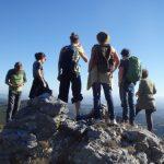 randonnée de groupe montagnes et garrigues